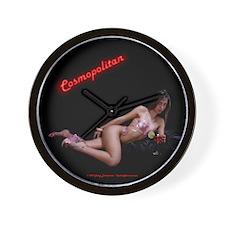 Neon Cosmopolitan Clock