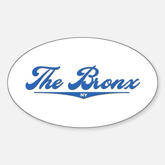 The Bronx, NY Oval Decal