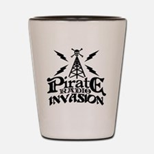 Pirate Radio Invasion Shot Glass