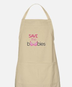 Save the Boobies Apron