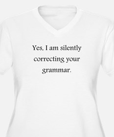 Yes, I'm silently correcting your grammar. Plus Si