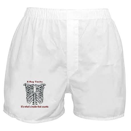 X-Ray Techs Inside Boxer Shorts