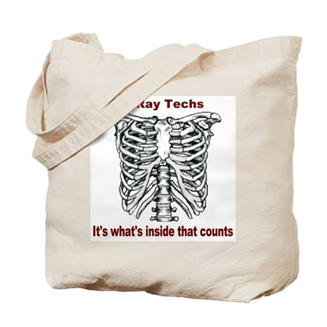 X-Ray Techs Inside Tote Bag