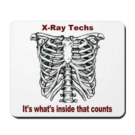 X-Ray Techs Inside Mousepad