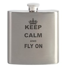 KEEP CALM AND FLY ON Flask