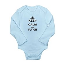 KEEP CALM AND FLY ON Body Suit