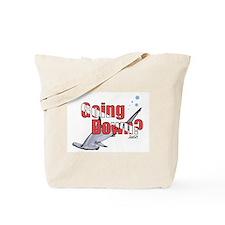 Going Down Hammerhead Scuba Diving Tote Bag