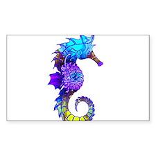 Splashy Seahorse Decal