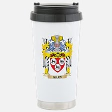 Allen Coat of Arms - Fa Stainless Steel Travel Mug