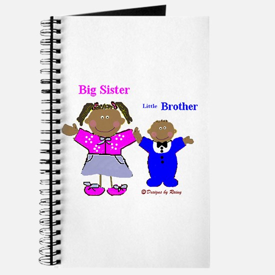 Black Big Sister and Little Brother Journal