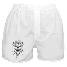 Tribal Skull 8 Ball Boxer Shorts