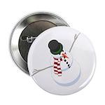 """Bliz the Snowman 2.25"""" Button (100 pack)"""