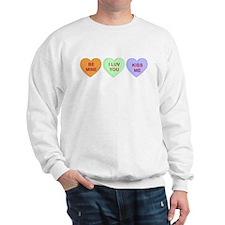 Conversation Hearts Sweatshirt