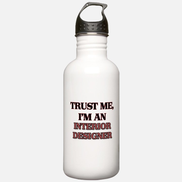 Trust Me, I'm an Interior Designer Water Bottle