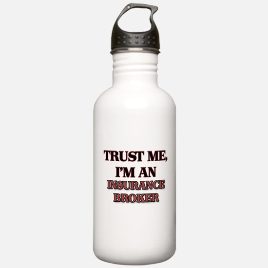 Trust Me, I'm an Insurance Broker Water Bottle