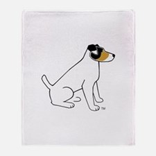 JRT Tri-Color Big Throw Blanket