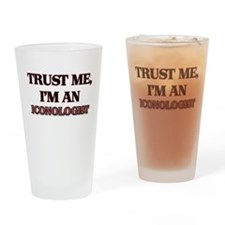 Trust Me, I'm an Iconologist Drinking Glass