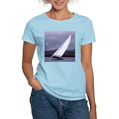 Sailing In Regatta Women's Pink T-Shirt