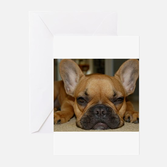 French Bulldog Calendar Greeting Cards (Package of