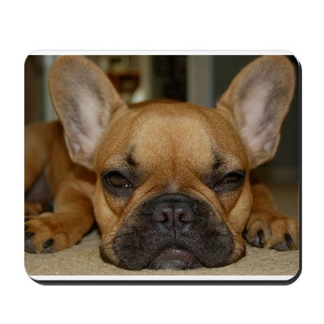 French Bulldog Calendar Mousepad