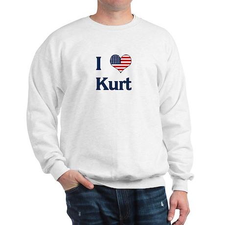I Love Kurt Sweatshirt