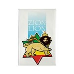 Zion Lion Rectangle Magnet (10 pack)
