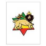 Zion Lion Small Poster