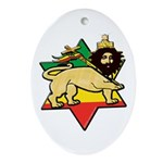 Zion Lion Oval Ornament