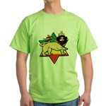 Zion Lion Green T-Shirt