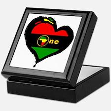 Afro Rasta Keepsake Box