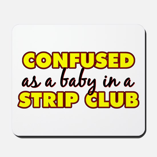 Confused as a baby... Mousepad