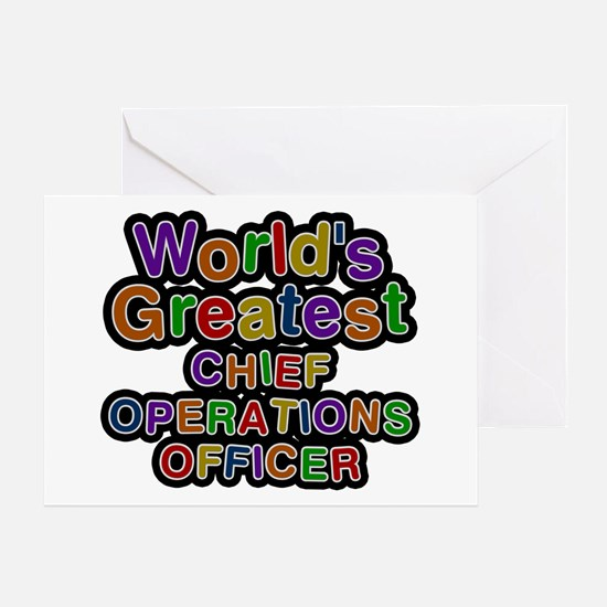 World's Greatest CHIEF OPERATIONS OFFICER Greeting