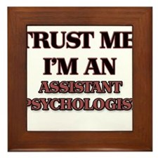 Trust Me, I'm an Assistant Psychologist Framed Til