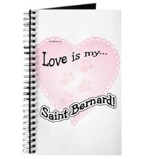 Love is my Saint Bernard Journal