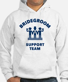 Bridegroom Support Team (Stag Pa Hoodie