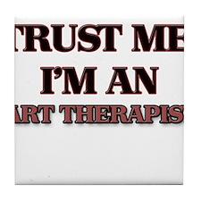 Trust Me, I'm an Art Therapist Tile Coaster