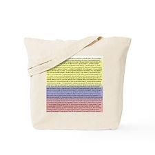102 dichos colombianos Tote Bag