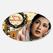 Bollywood Special Series Sticker (Oval)