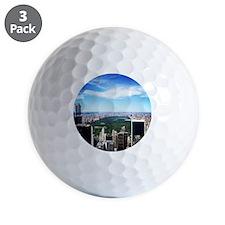 New York, New York Golf Ball