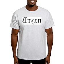 Bryan: Mirror Ash Grey T-Shirt