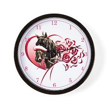 Love my Harness Wall Clock
