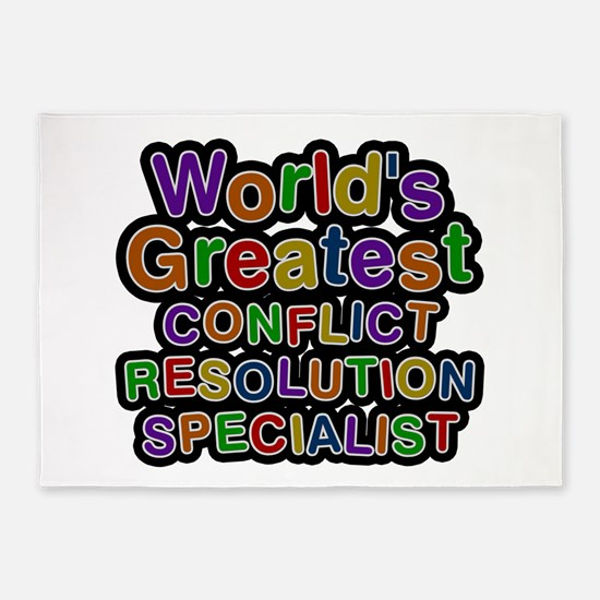 World's Greatest CONFLICT RESOLUTION SPECIALIST 5'