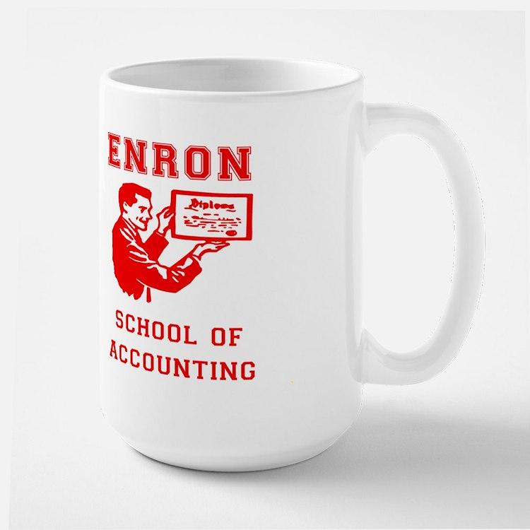 enron school of accounting mugs - Enrob Color
