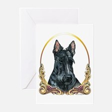 Scottish Terrier Christmas/Holiday Greeting Cards