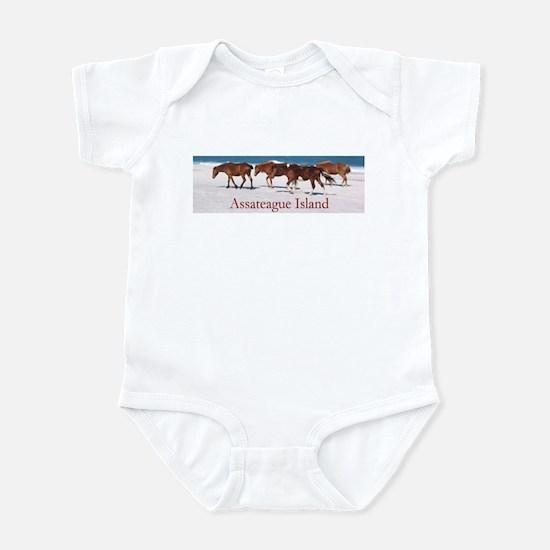Assateague Ponies Infant Bodysuit