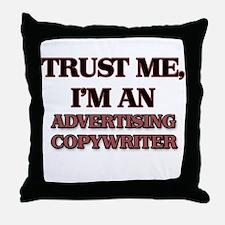 Trust Me, I'm an Advertising Copywriter Throw Pill
