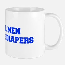 real-men-diapers-FRESH-BLUE Mugs