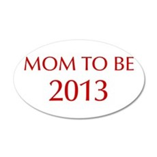mom-to-be-2013-OPT-RED Wall Decal