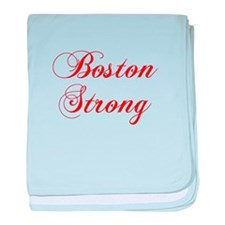 boston-strong-cho-red baby blanket