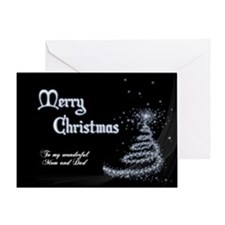 Christmas card for mom and dad Greeting Cards